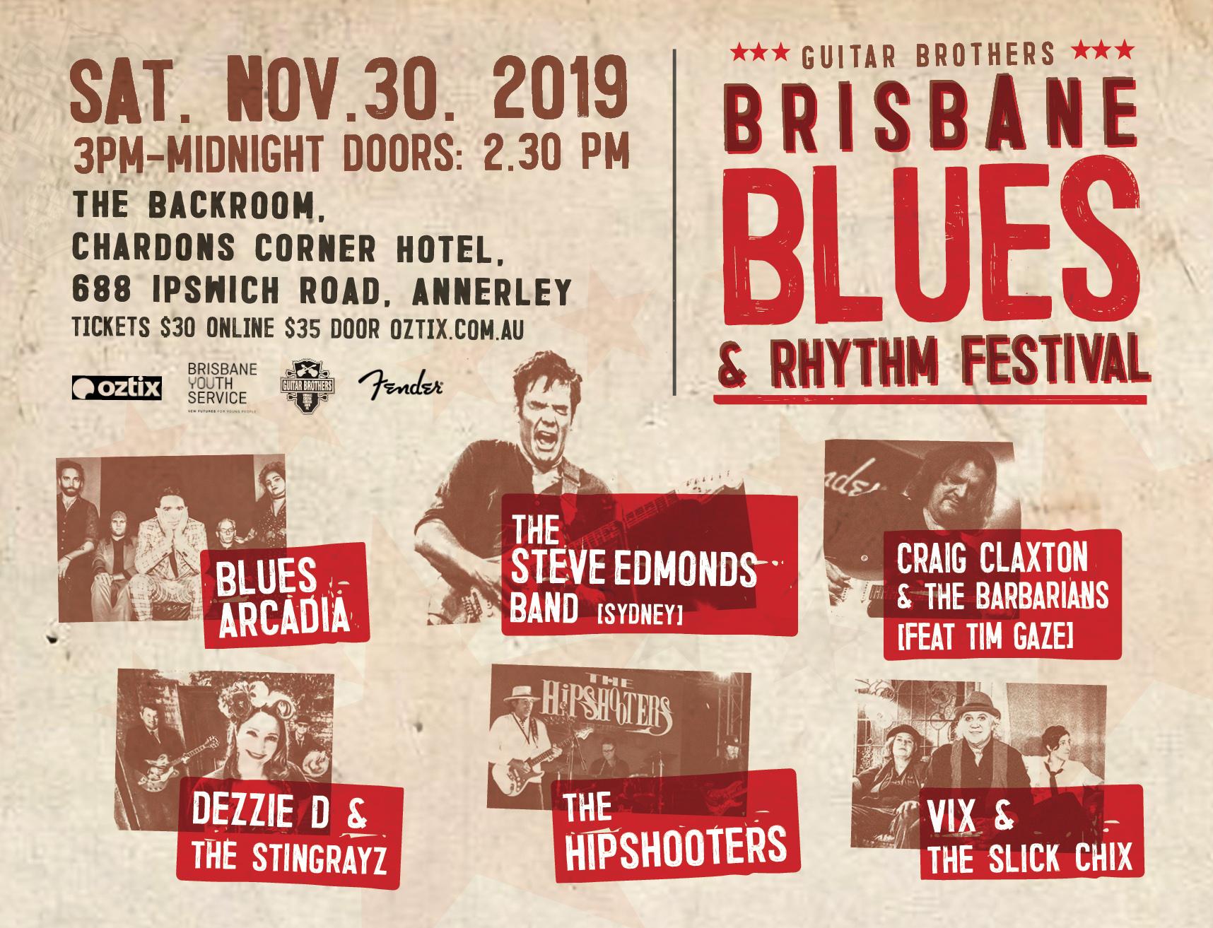 Brisbane Blues and Rhythm Festival 2019