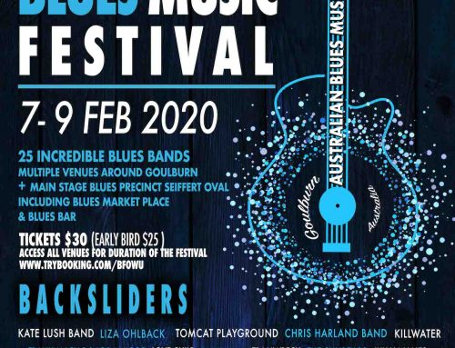Australian Blues Music Festival – Goulburn Feb 2020