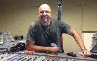 Shakey Shaun Bindley in the Studio of 989FM