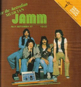 Jamm Magazine cover