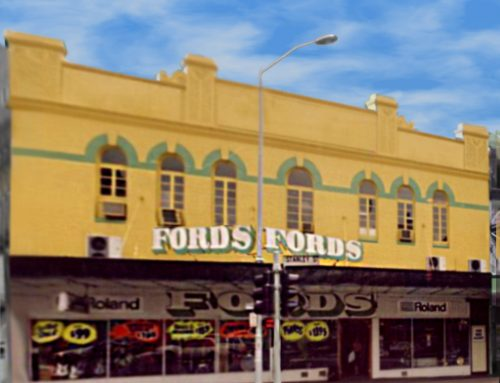 Back In The Day: Fords Music Store and Home Grown Amplification