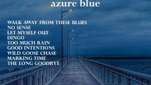 Azure Blue Back Cover Song Listing